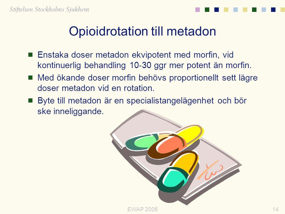 Opioidrotation till metadon