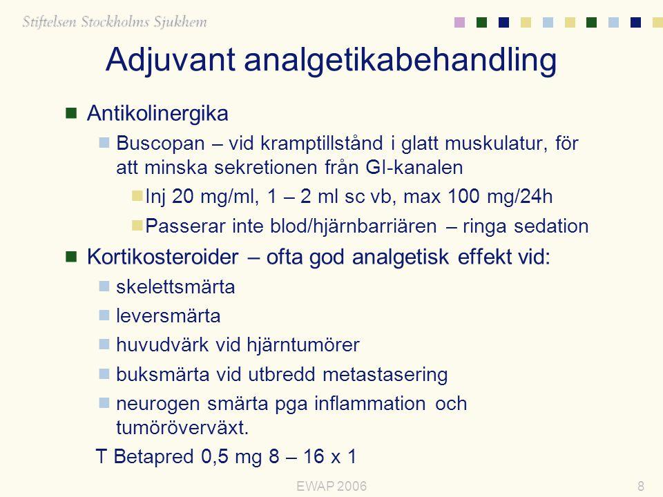 Adjuvant analgetikabehandling