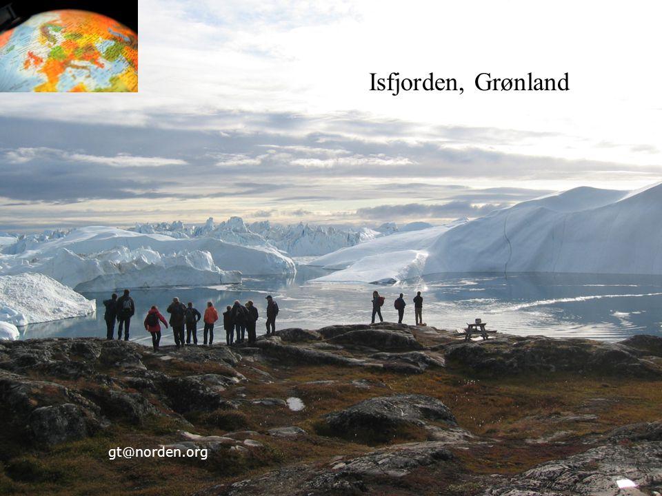 Isfjorden, Grønland gt@norden.org 25 25 25