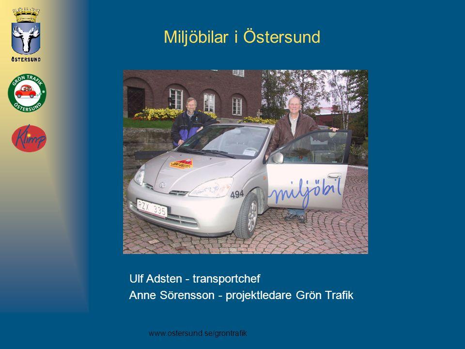 Miljöbilar i Östersund