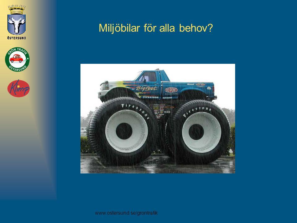 Miljöbilar för alla behov
