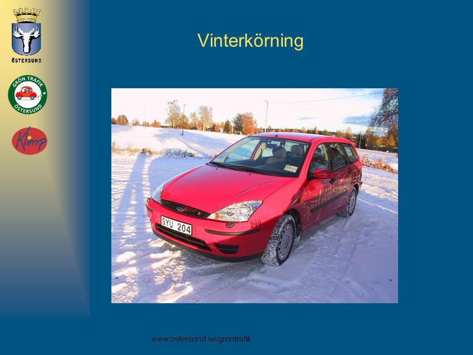 Vinterkörning 13. Hur ser det ut med vinterkörningen med etanolbilarna Problem med att de är svårstartade