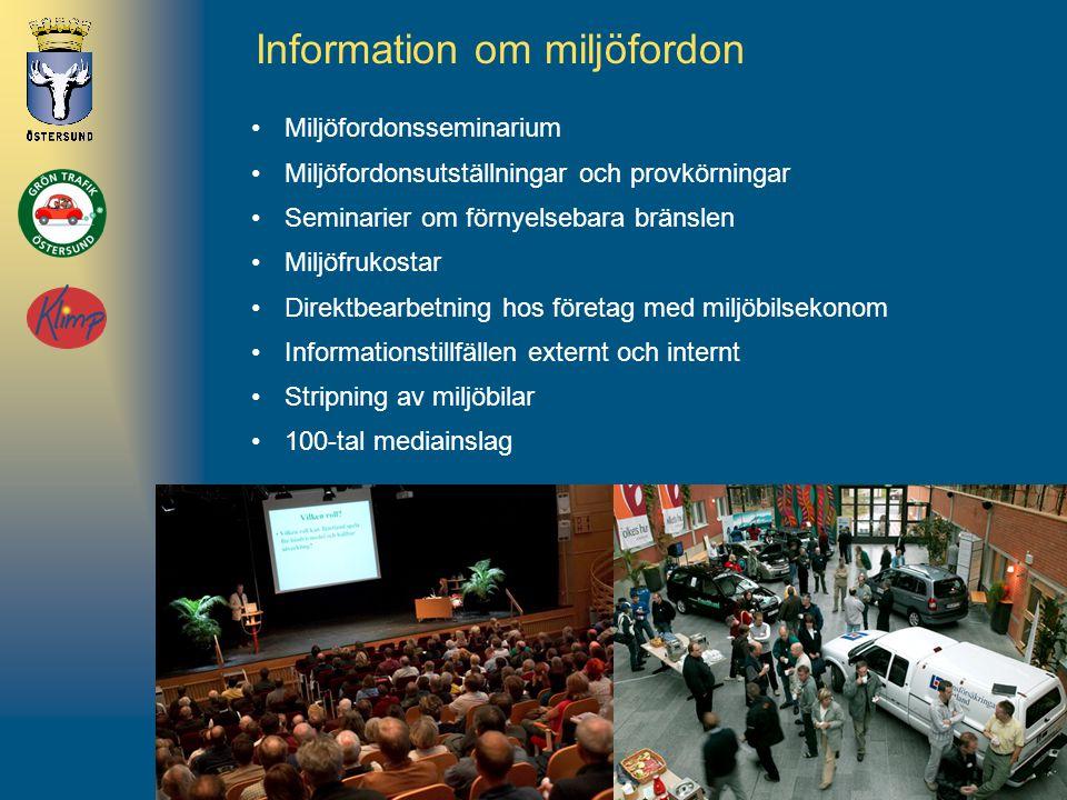 Information om miljöfordon