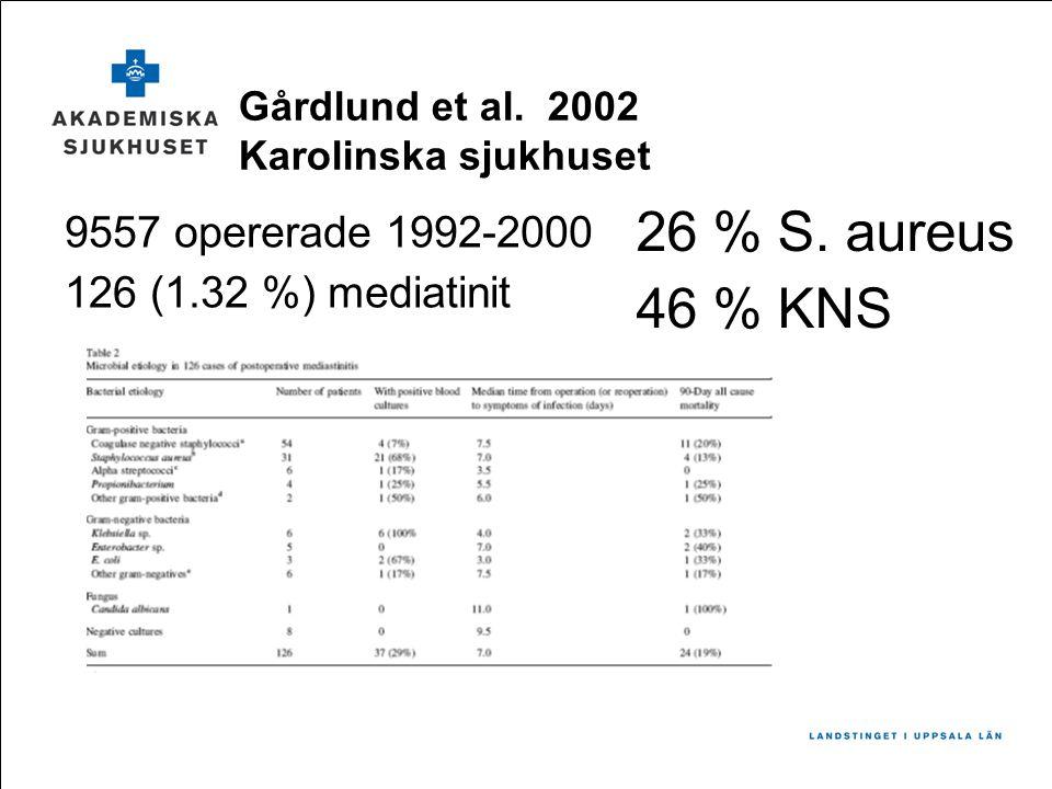 Gårdlund et al. 2002 Karolinska sjukhuset