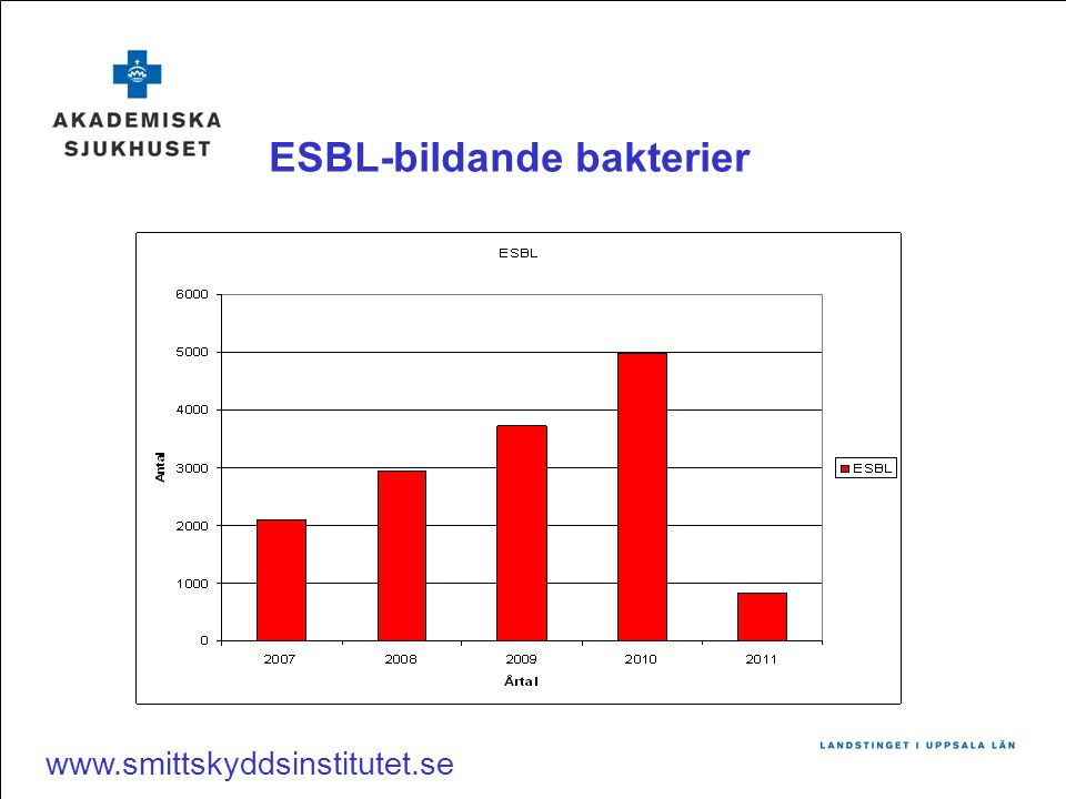ESBL-bildande bakterier