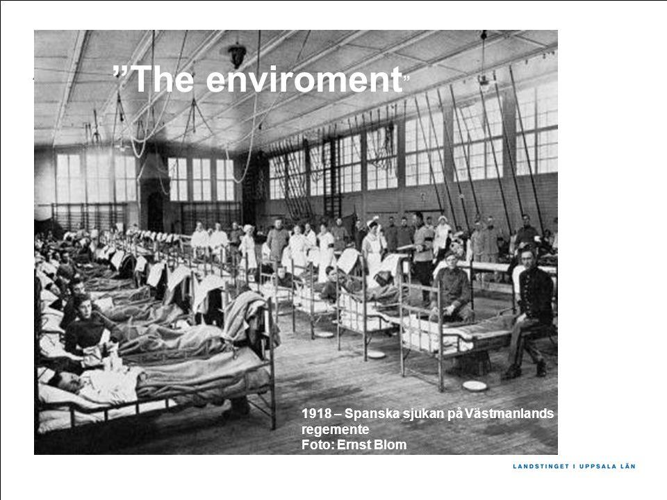 The enviroment 1918 – Spanska sjukan på Västmanlands regemente