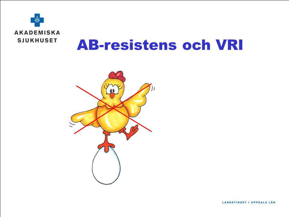 AB-resistens och VRI