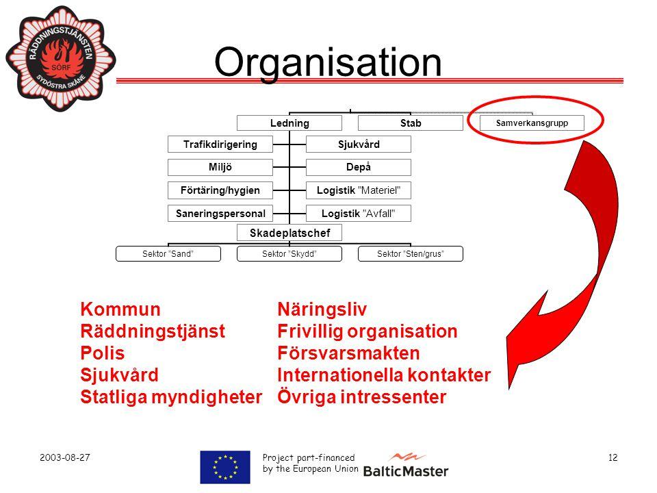Organisation Kommun Näringsliv Räddningstjänst Frivillig organisation