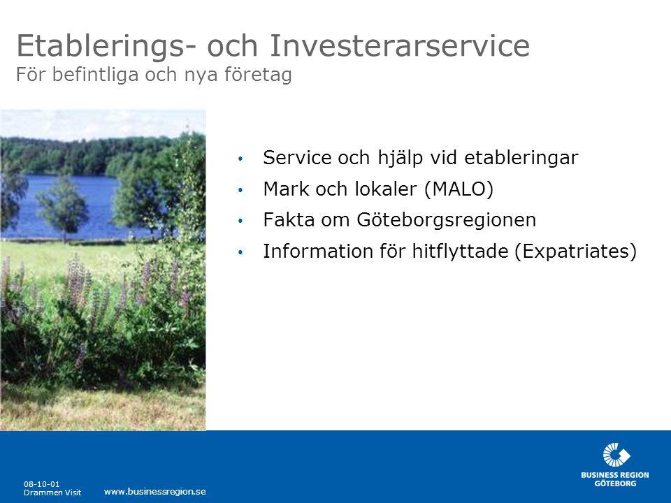 Etablerings- och Investerarservice För befintliga och nya företag