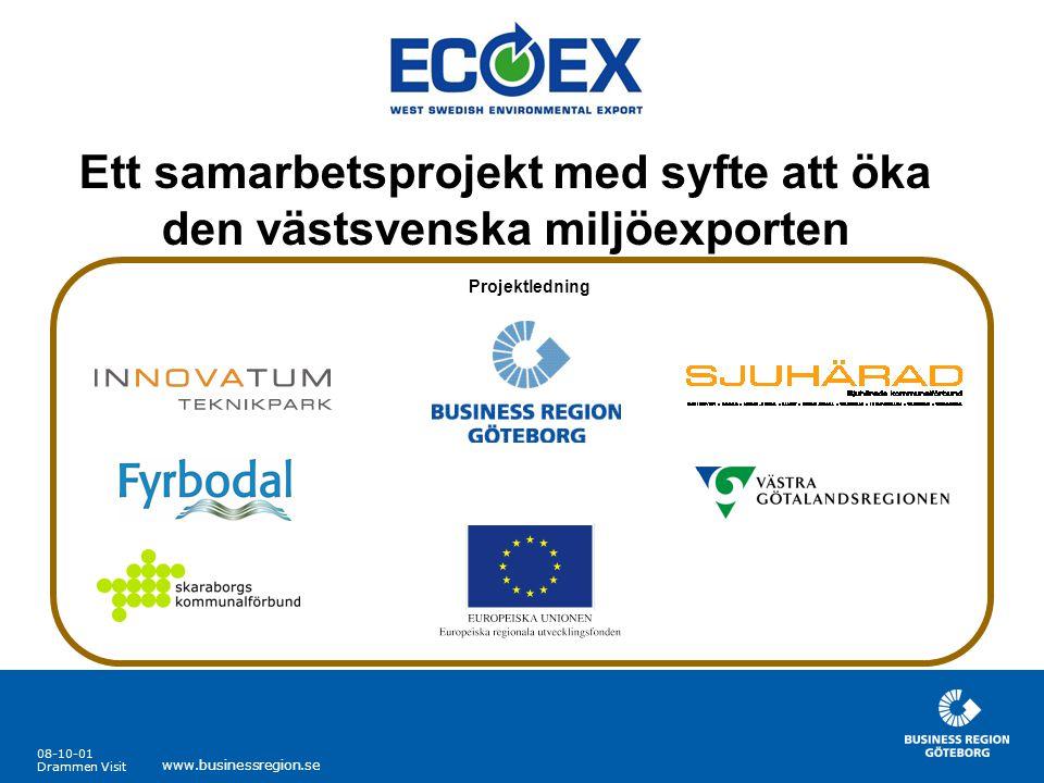 Ett samarbetsprojekt med syfte att öka den västsvenska miljöexporten