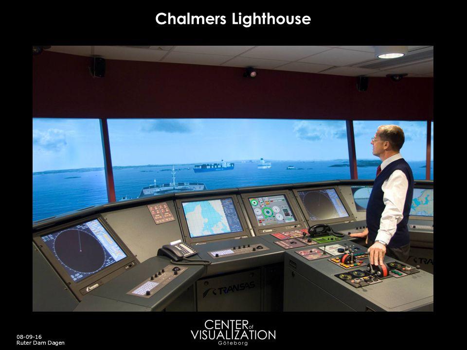 Chalmers Lighthouse 08-09-16 Ruter Dam Dagen