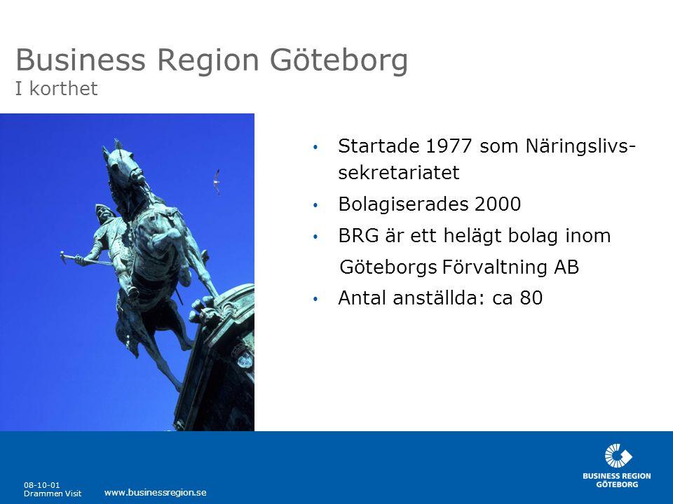 Business Region Göteborg I korthet