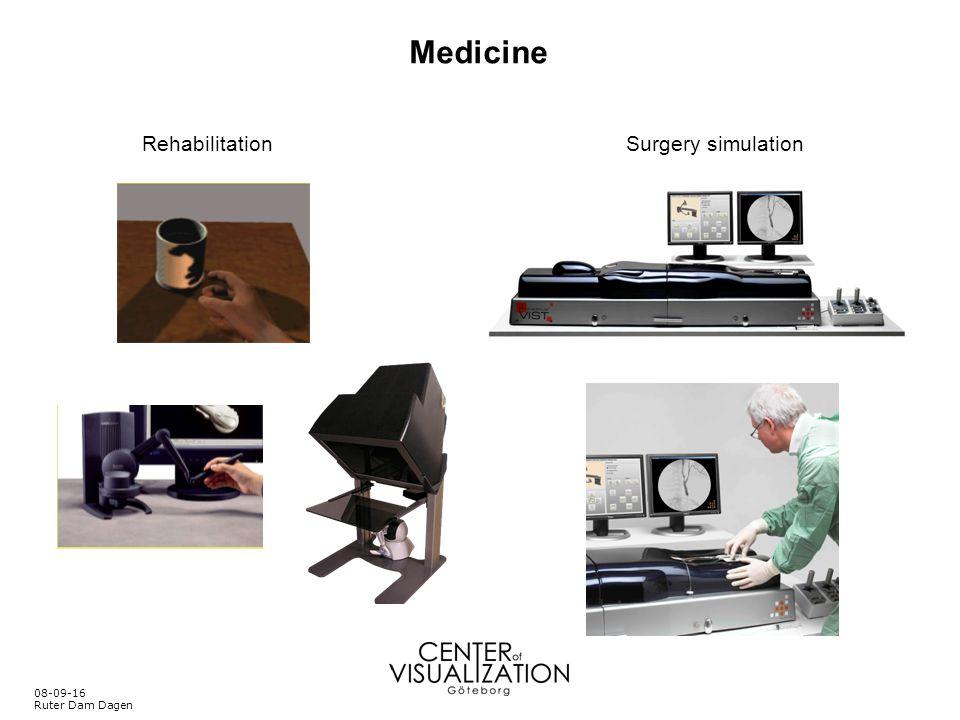 Medicine Rehabilitation Surgery simulation 08-09-16 Ruter Dam Dagen