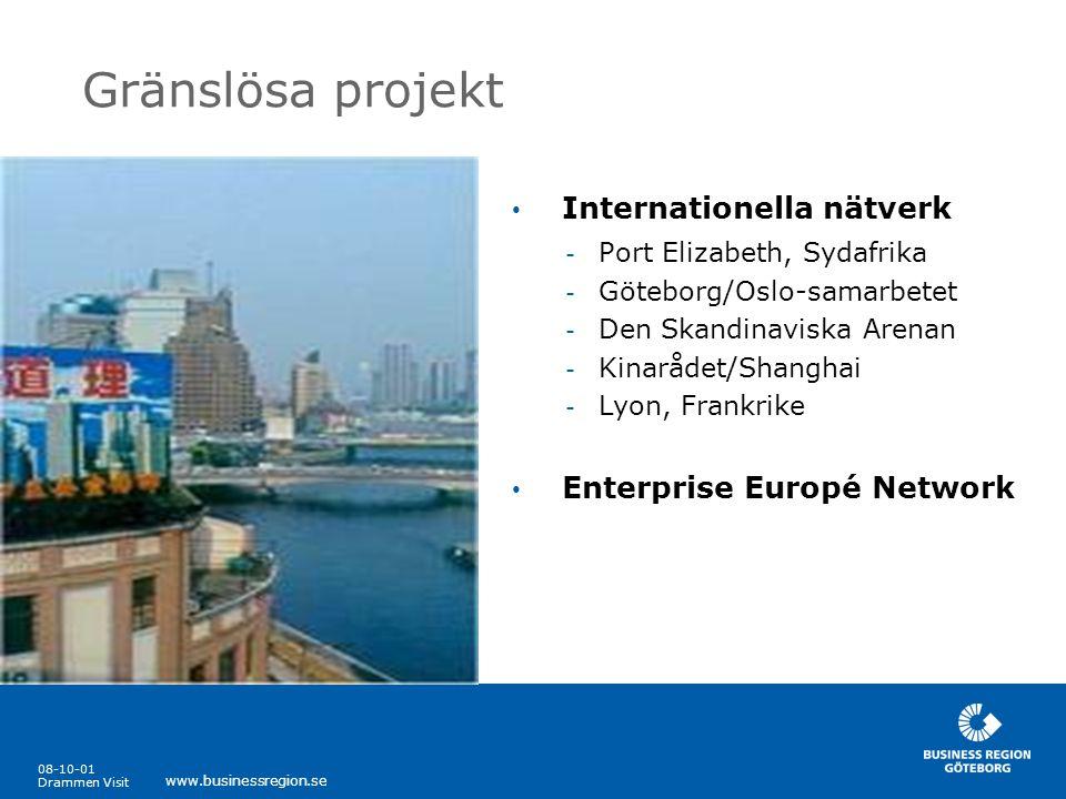 Gränslösa projekt Internationella nätverk Enterprise Europé Network