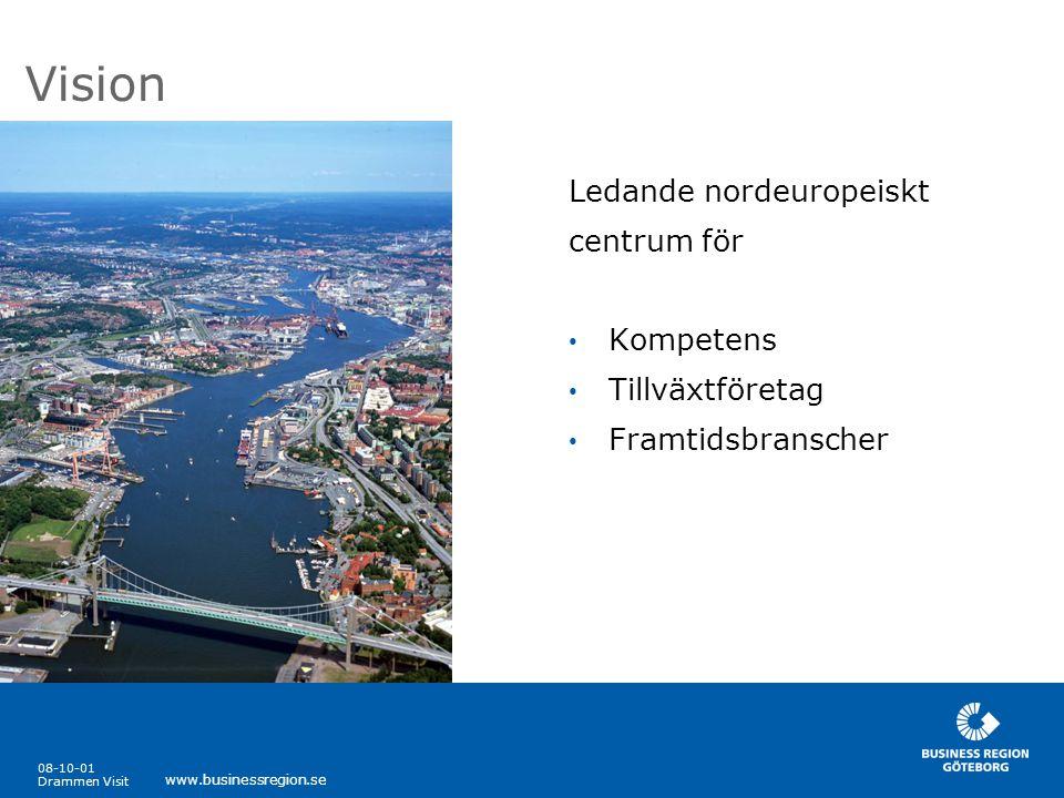 Vision Ledande nordeuropeiskt centrum för Kompetens Tillväxtföretag
