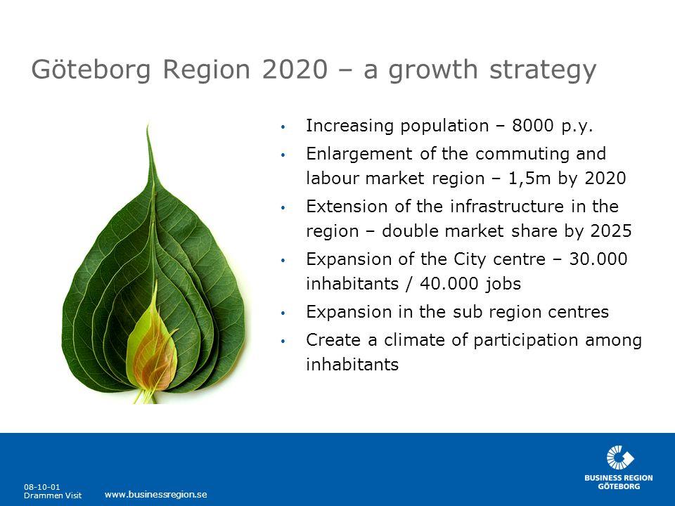 Göteborg Region 2020 – a growth strategy
