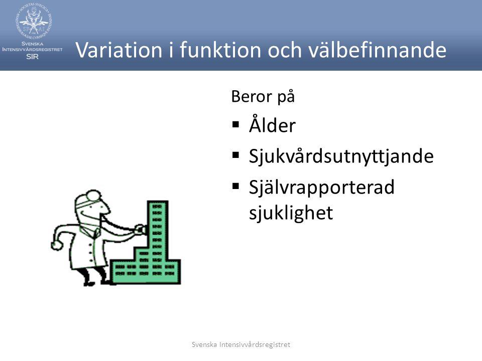 Variation i funktion och välbefinnande