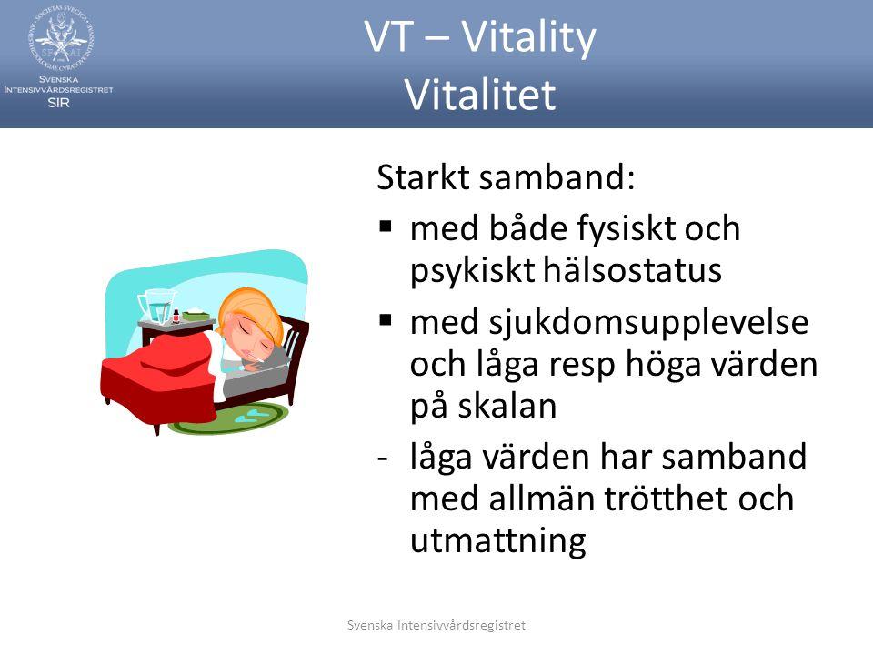VT – Vitality Vitalitet