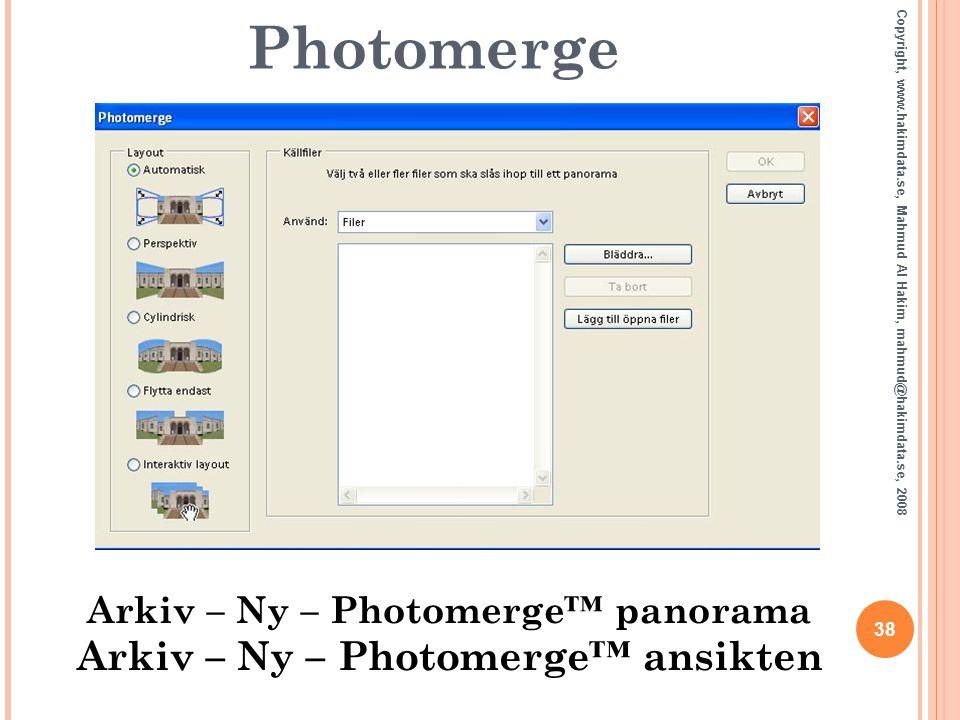 Arkiv – Ny – Photomerge™ panorama Arkiv – Ny – Photomerge™ ansikten