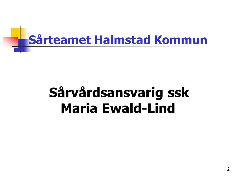 Utbildningar Maria Ewald-Lind Sjuksköterska Diabetesutbildning 15 p