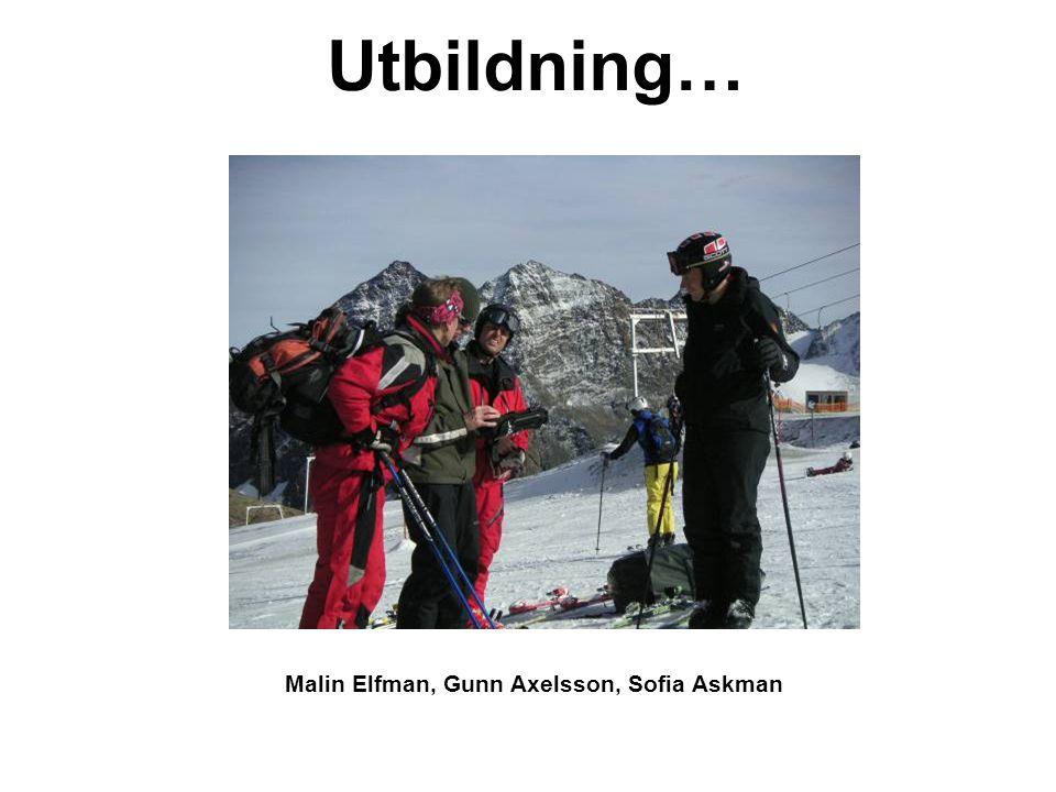 Malin Elfman, Gunn Axelsson, Sofia Askman