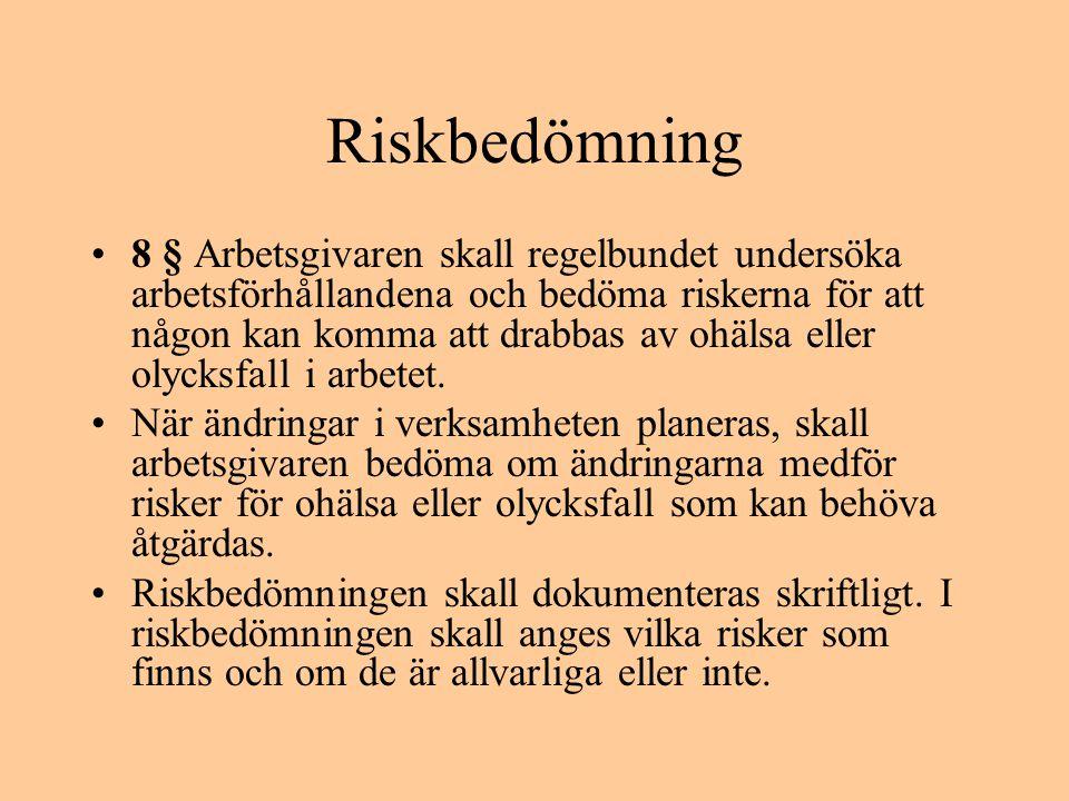 Riskbedömning