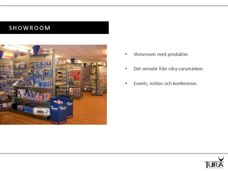 SHOWROOM Showroom med produkter. Det senaste från våra varumärken.
