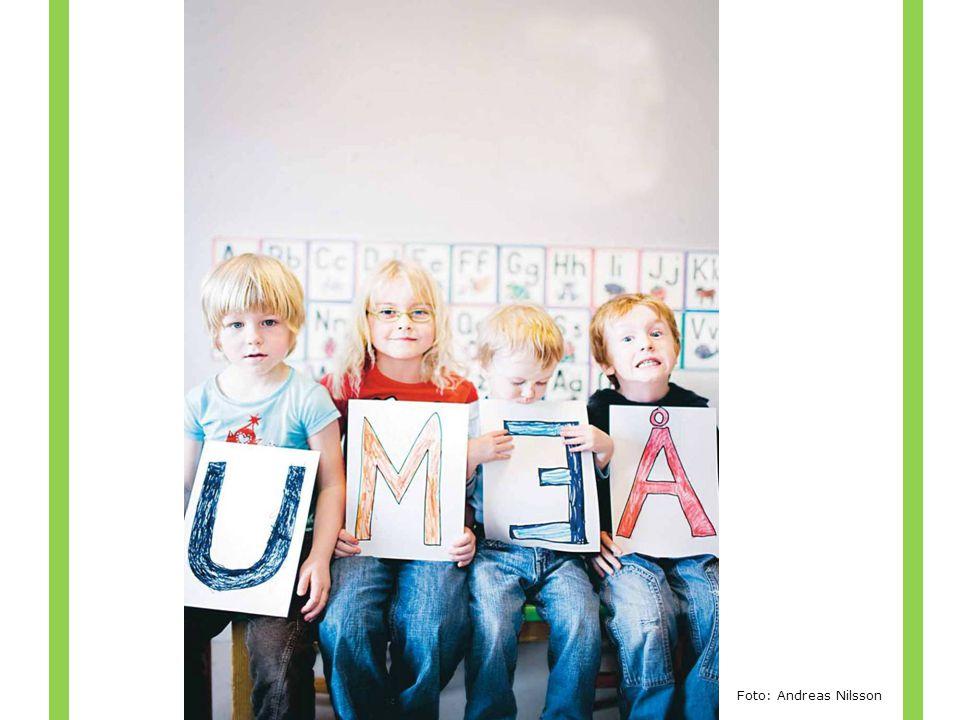 Det här är några av Umeå nya biblioteksanvändare Dom kommer att ha