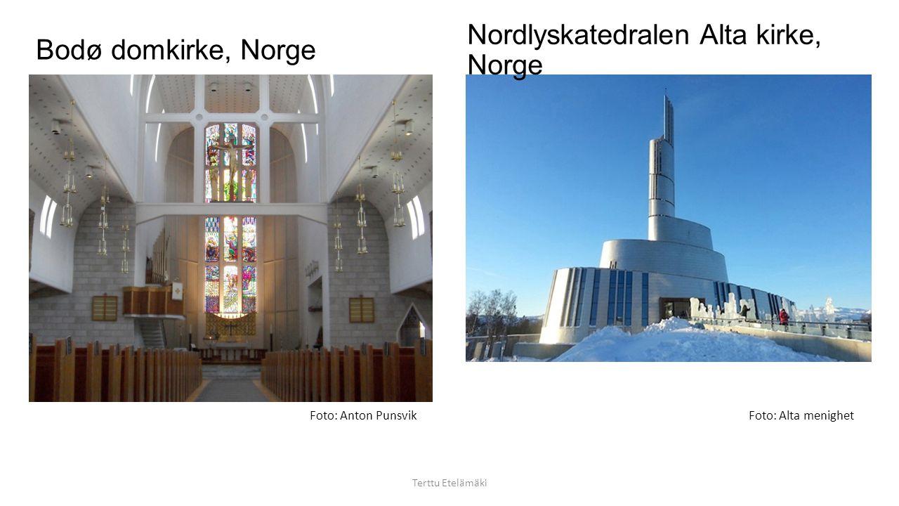 Nordlyskatedralen Alta kirke, Norge