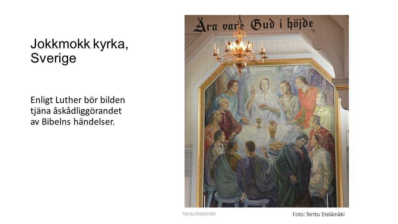 Jokkmokk kyrka, Sverige