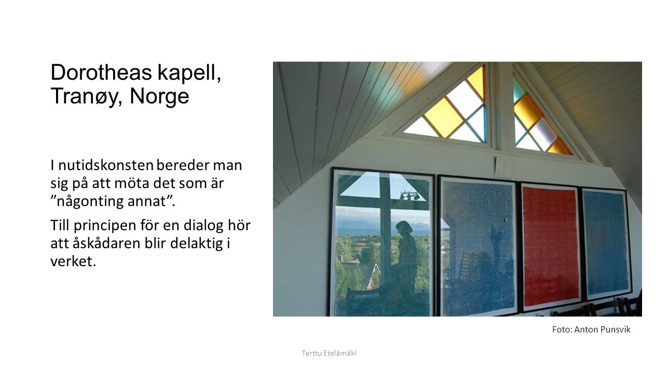 Dorotheas kapell, Tranøy, Norge