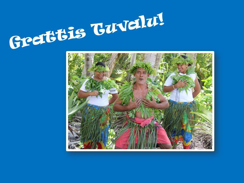 Grattis Tuvalu! Säger vi Grattis Tuvalu!
