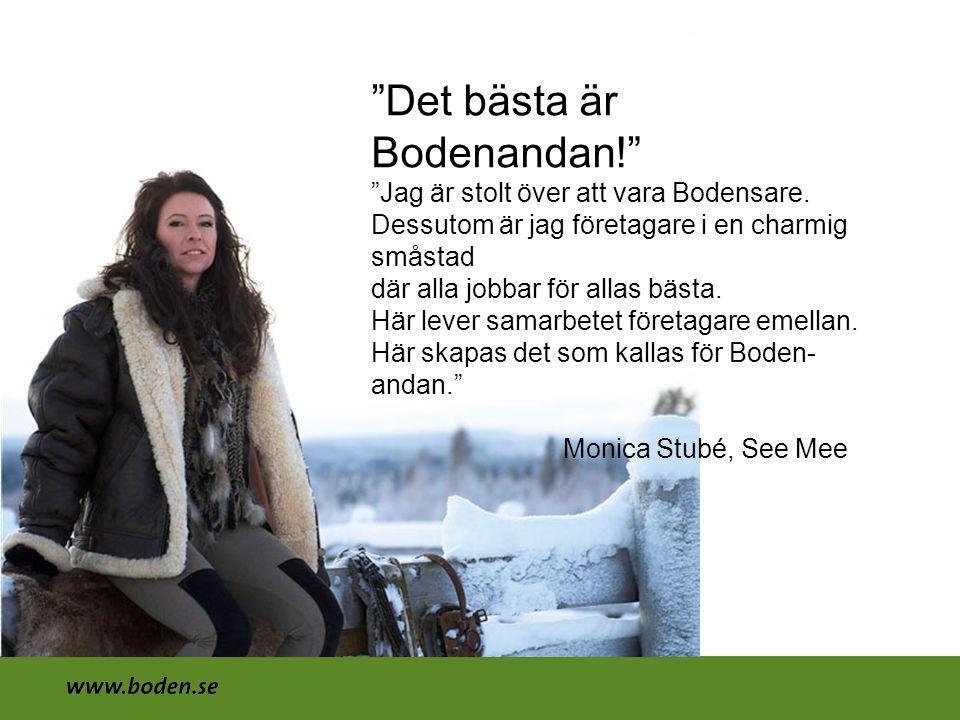 Det bästa är Bodenandan!