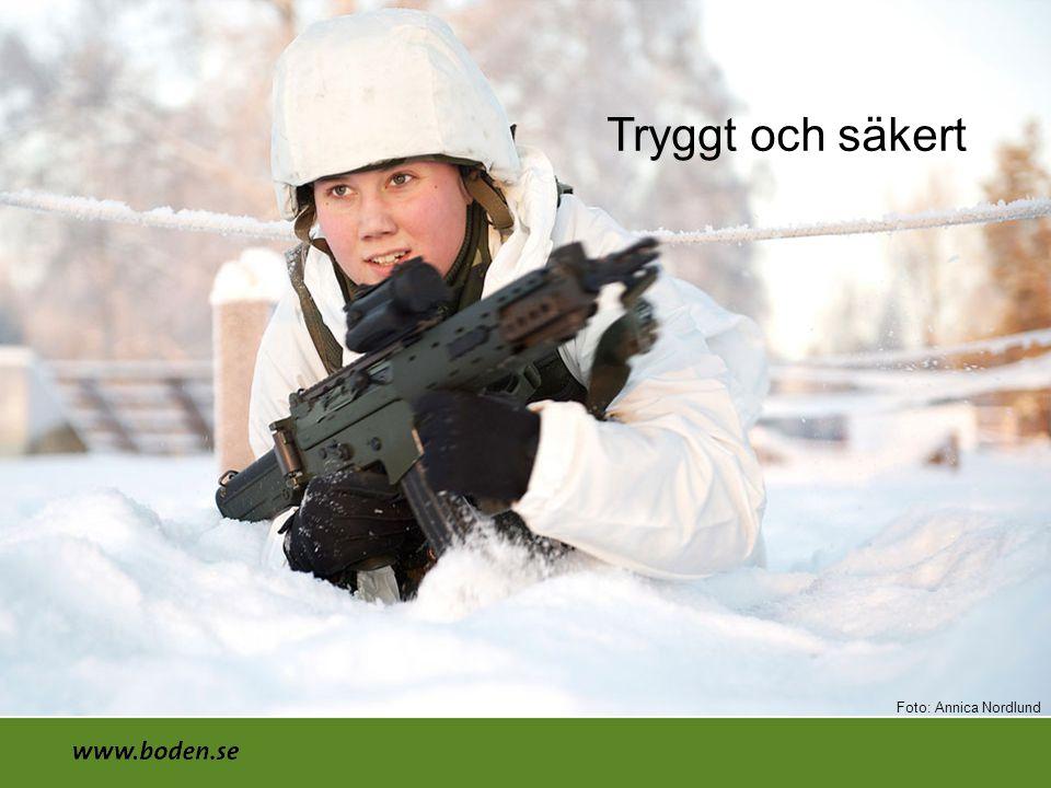 Tryggt och säkert Foto: Annica Nordlund