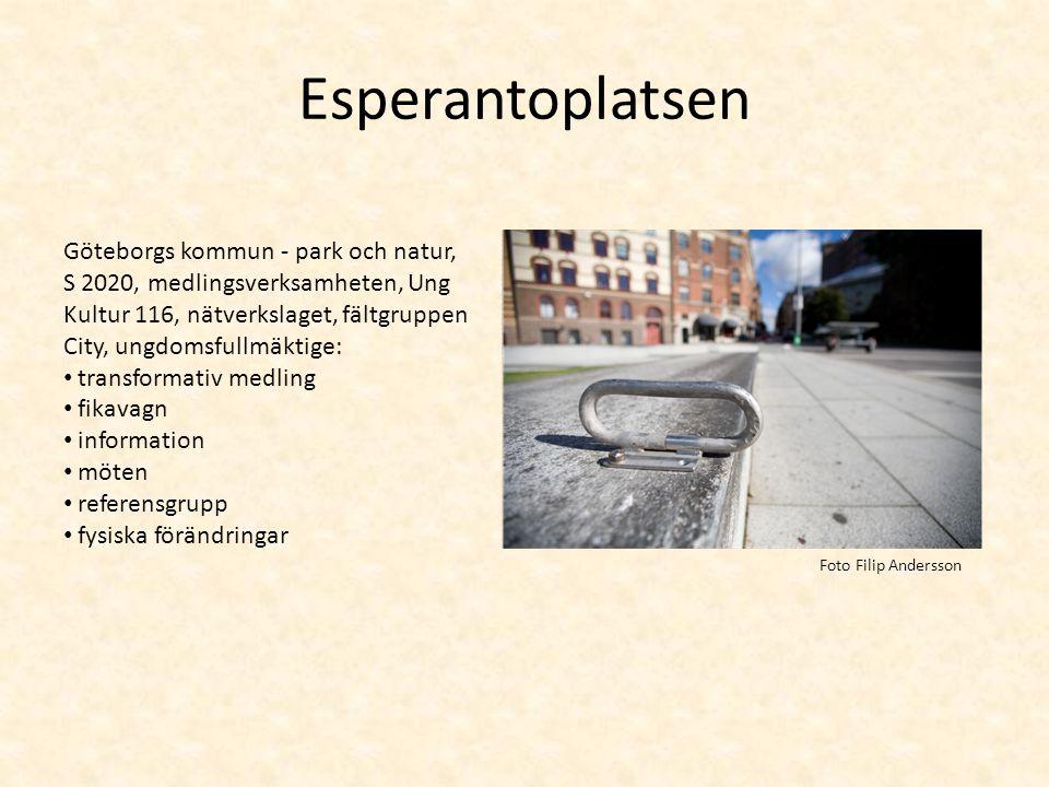 Esperantoplatsen Göteborgs kommun - park och natur,