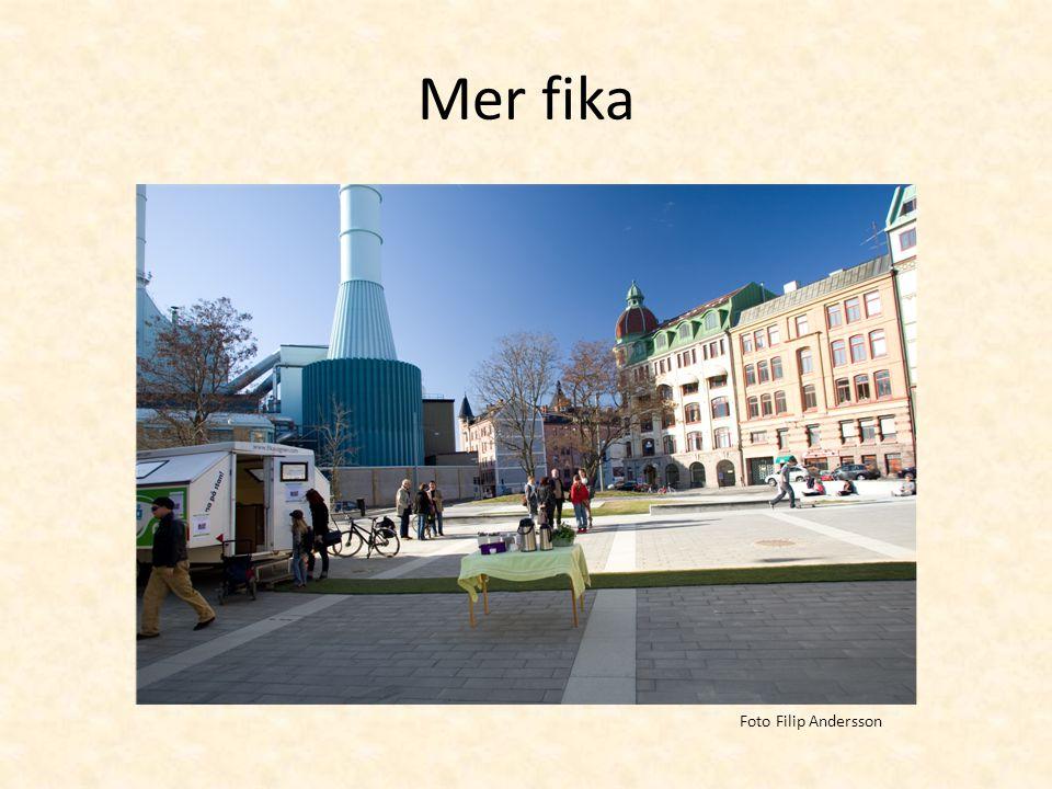 Mer fika Foto Filip Andersson