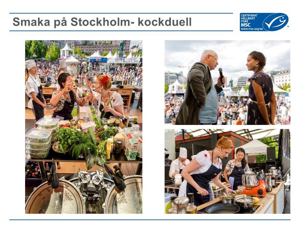 Smaka på Stockholm- kockduell