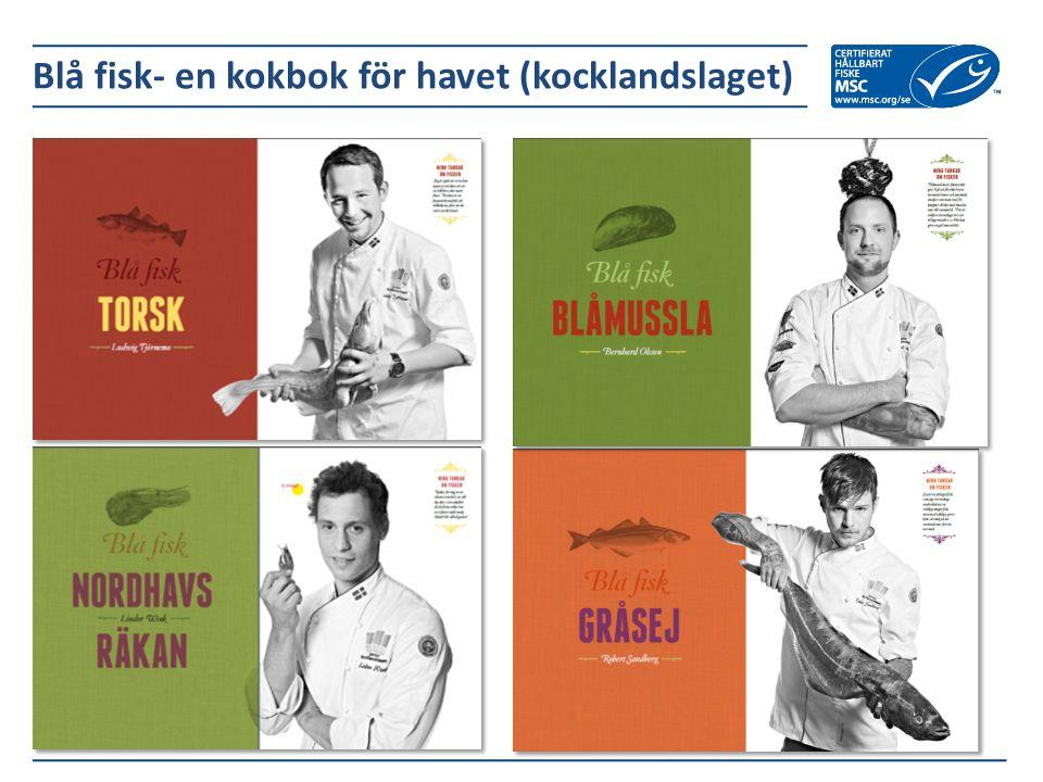 Blå fisk- en kokbok för havet (kocklandslaget)