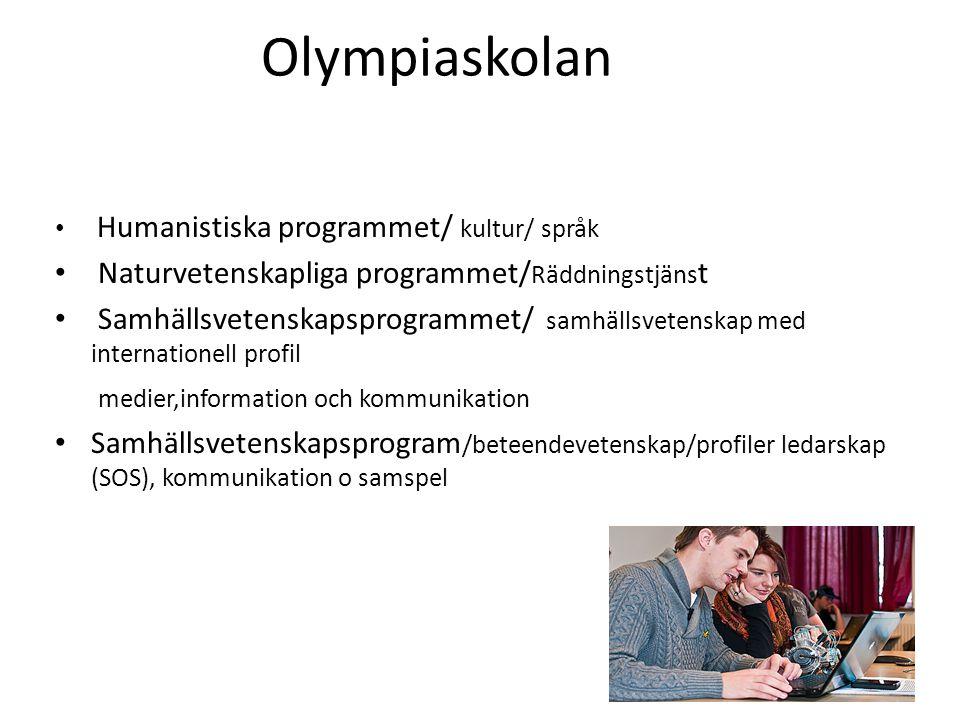 Olympiaskolan Naturvetenskapliga programmet/Räddningstjänst