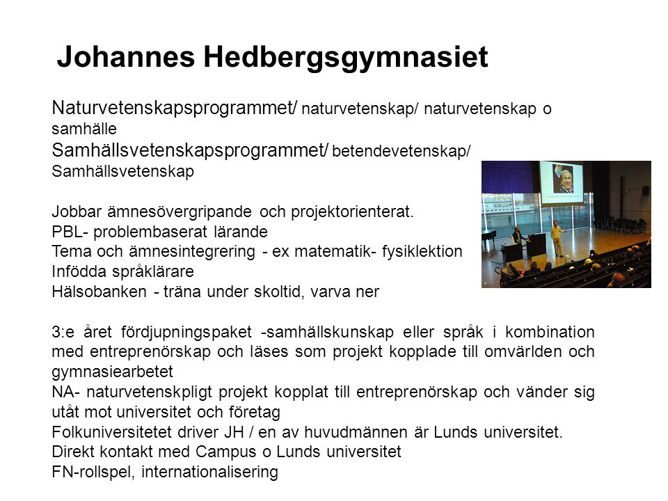 Johannes Hedbergsgymnasiet