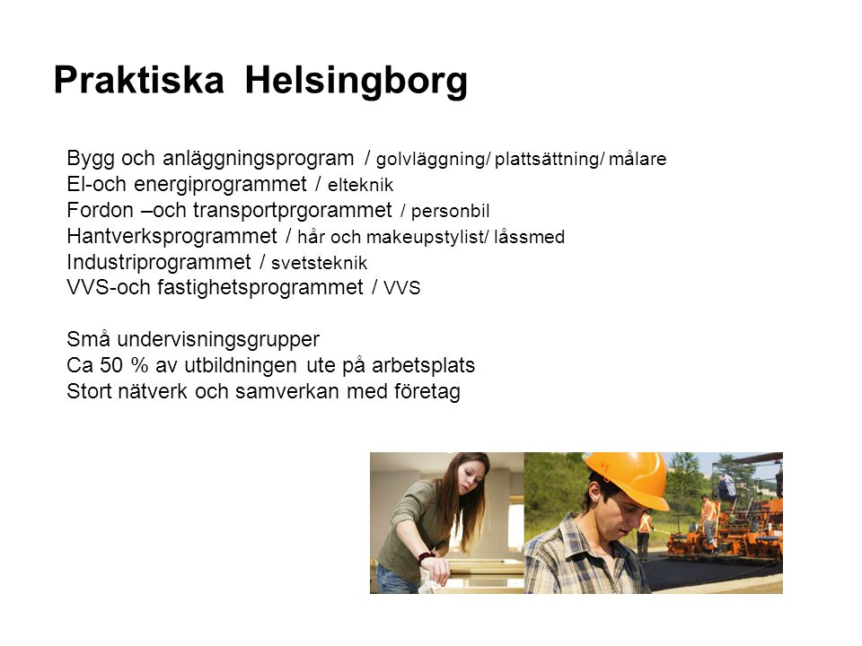 Praktiska Helsingborg