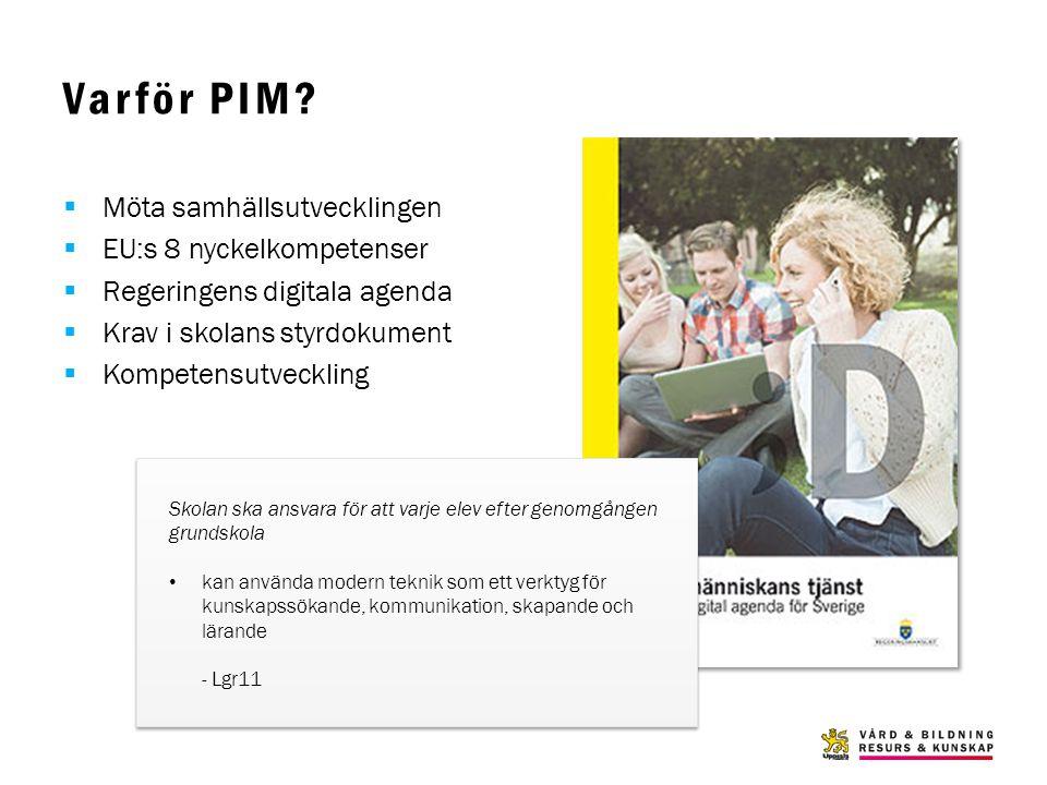 Varför PIM Möta samhällsutvecklingen EU:s 8 nyckelkompetenser