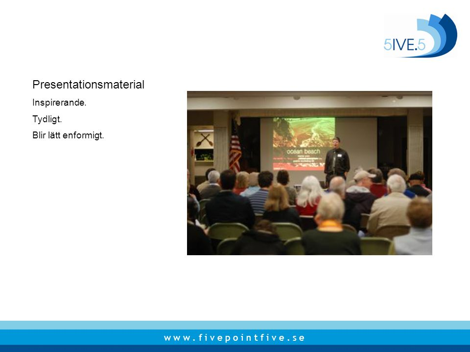 Presentationsmaterial