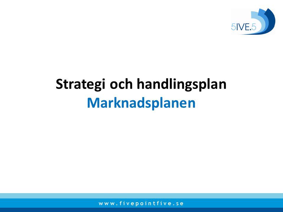 Strategi och handlingsplan