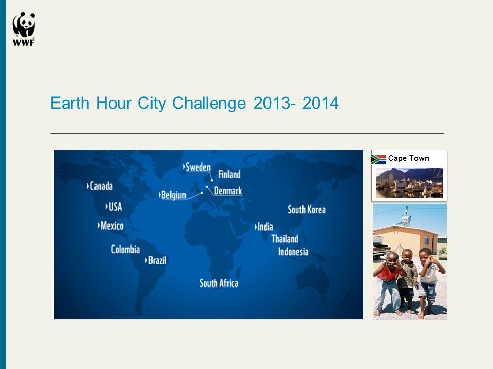 Earth Hour City Challenge 2013- 2014