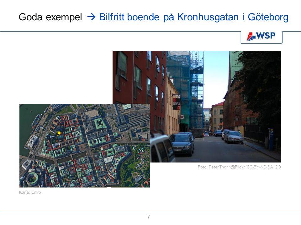 Goda exempel  Bilfritt boende på Kronhusgatan i Göteborg