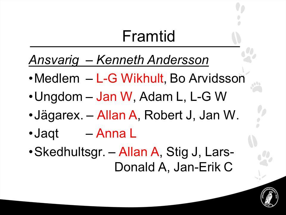 Framtid Ansvarig – Kenneth Andersson