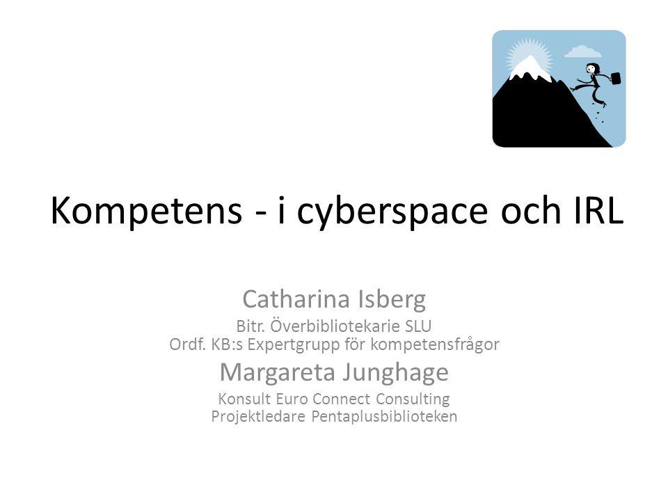 Kompetens - i cyberspace och IRL