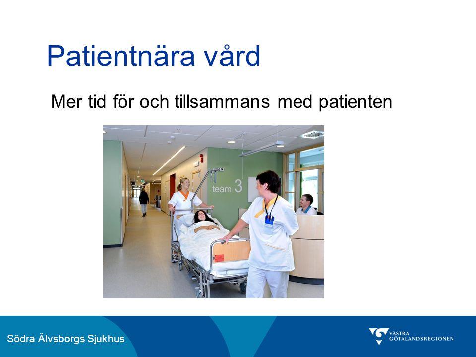 Patientnära vård Mer tid för och tillsammans med patienten