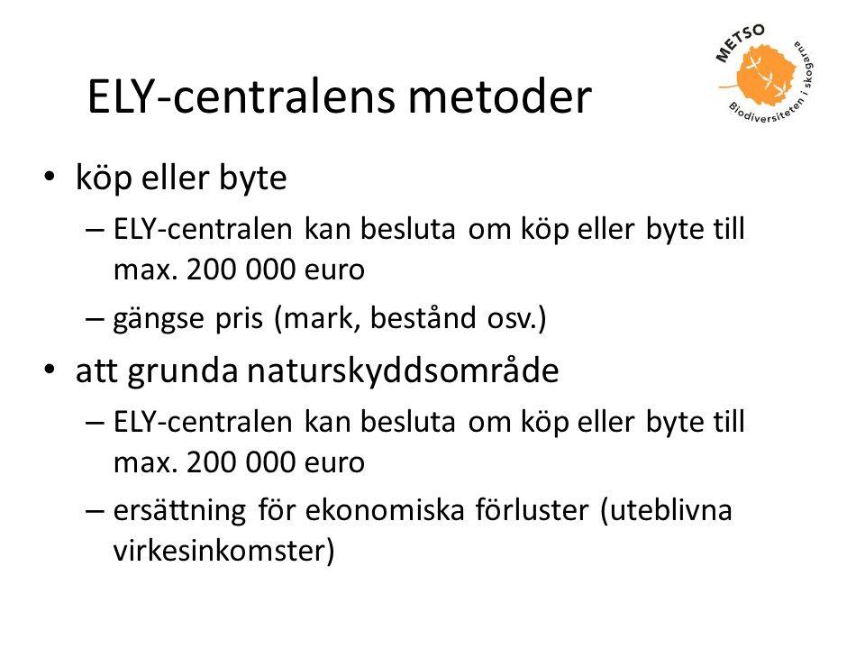 ELY-centralens metoder